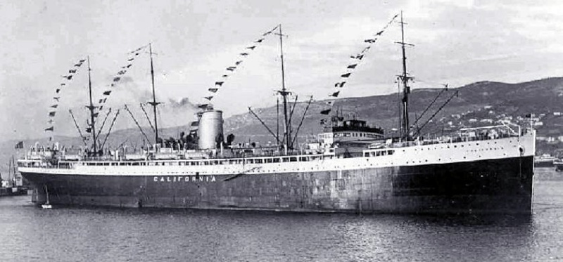 'California' -  Nav. Libera Triestina - 1921 15_11l10