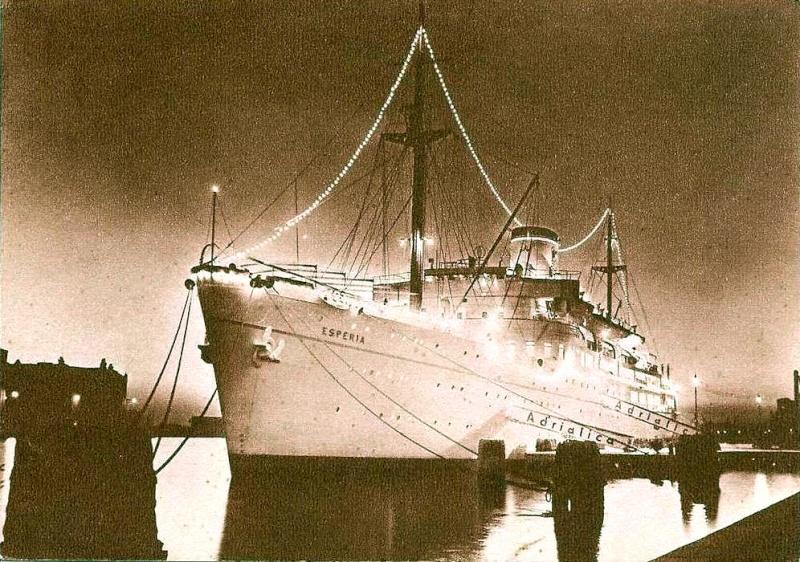 'Esperia' - Adriatica - 1949 15_nav15