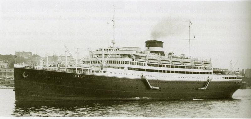 'Vulcania' - Cosulich - 1928 15_nav25