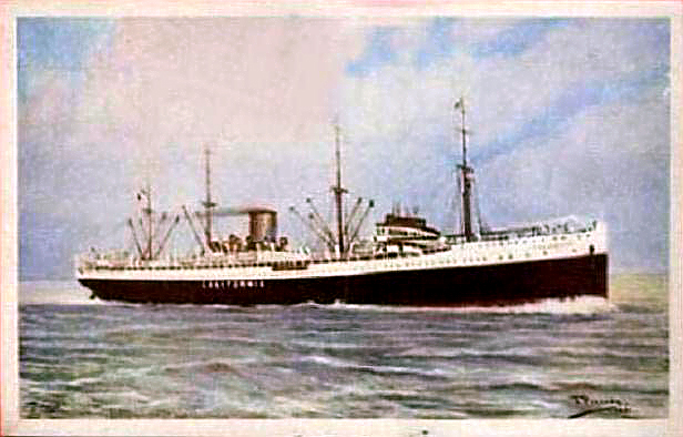 'California' -  Nav. Libera Triestina - 1921 16_12l10