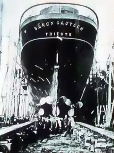 'Baron Gautsch' - Österreichischer Lloyd - 1908 16_gau10