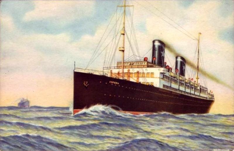 'Esperia' - Sitmar - 1921 16_nav18