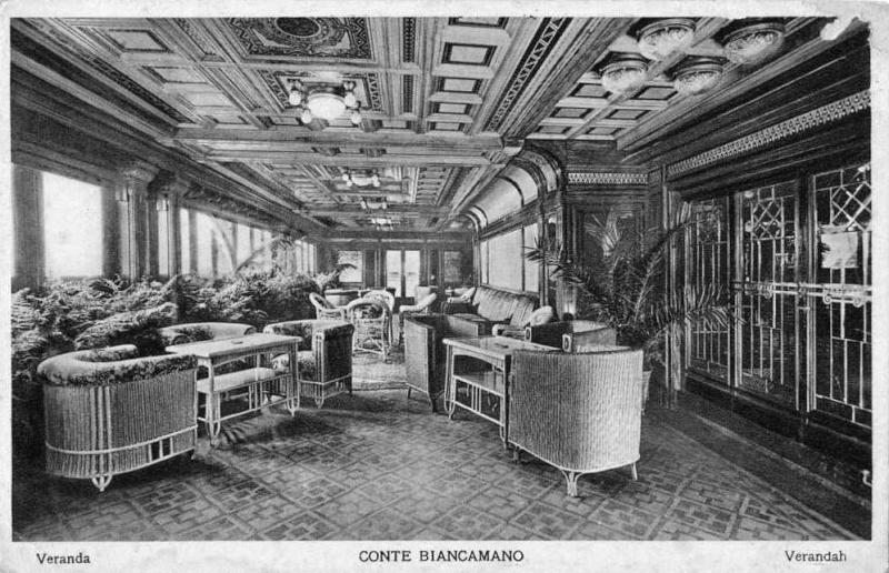 'Conte Biancamano' - Lloyd Sabaudo - 1925 16_nav20