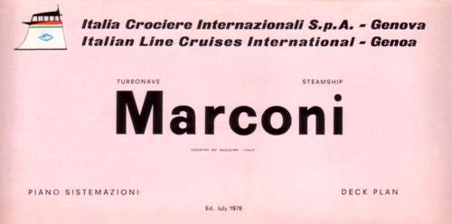 'Guglielmo Marconi' - Lloyd Triestino - 1963 17_cro10