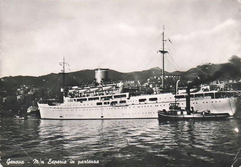 'Esperia' - Adriatica - 1949 18_esp10