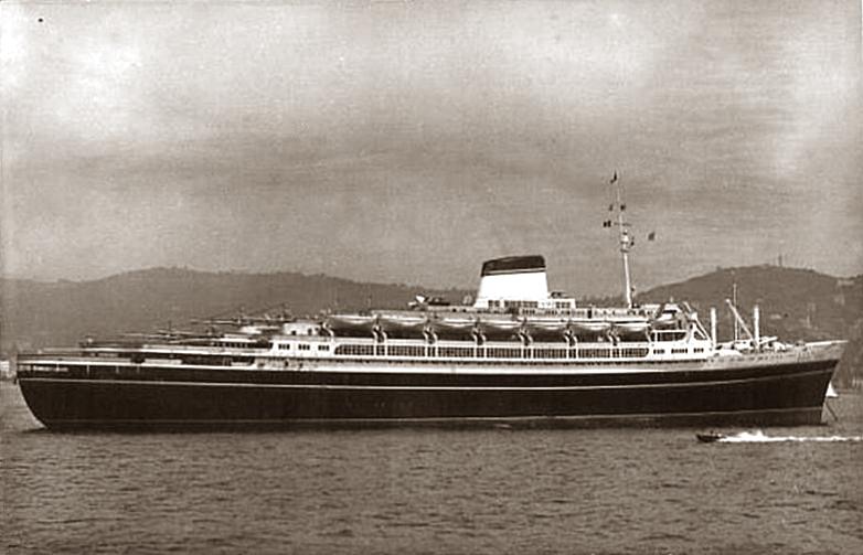 'Andrea Doria' - Italia - 1952 18_nav20