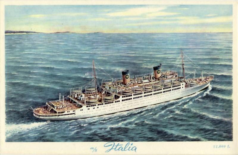 'Italia' - Home Line - 1928 19_nav28