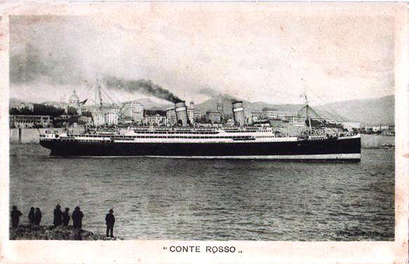 'Conte Rosso' - Lloyd Sabaudo - 1923 19a_ro10