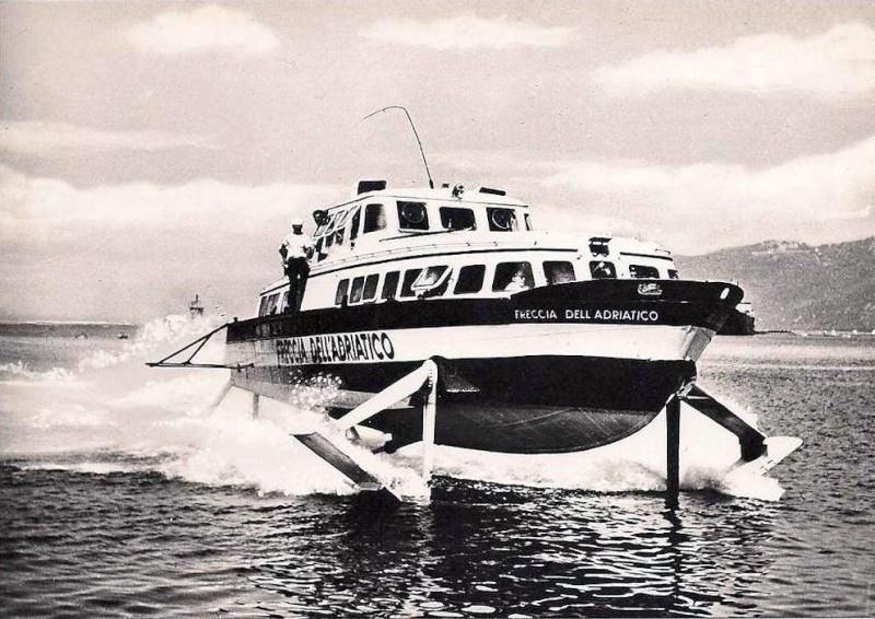 'Freccia dell'Adriatico - Soc. Aliscafi Trieste - 1959 1_frec10