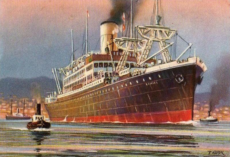 'Rosandra' - Navigazione Libera Triestina - 1921 1_nave23