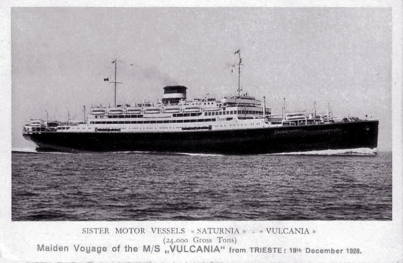 'Vulcania' - Cosulich - 1928 1a_ina10