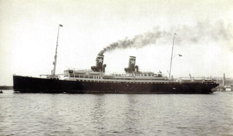 'Ausonia' - Sitmar - 1928 1a_nav11