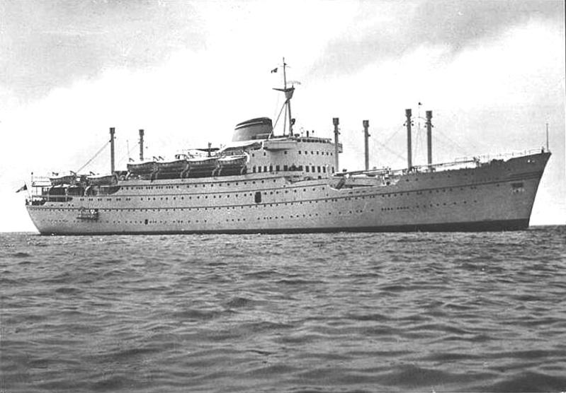 'Oceania' - Lloyd Triestino - 1951 2-1oce10