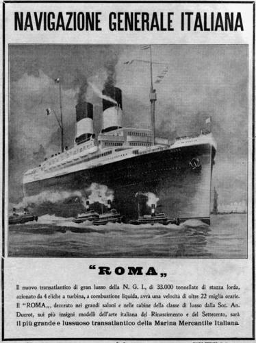 'Roma' - N.G.I. - 1926 20_nav10