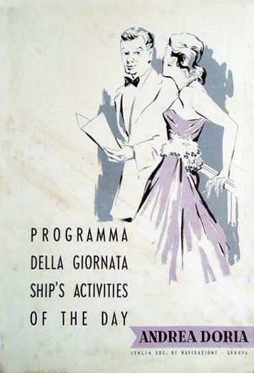 'Andrea Doria' - Italia - 1952 20_nav18
