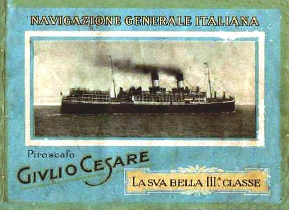 'Giulio Cesare' - N.G.I. - 1921 22_nav15