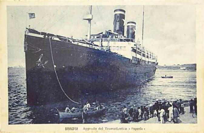 'Esperia' - Sitmar - 1921 22_nav20