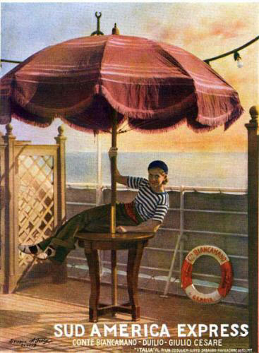'Conte Biancamano' - Lloyd Sabaudo - 1925 22_nav21