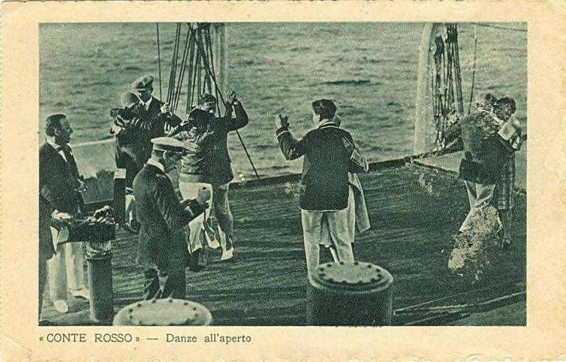 'Conte Rosso' - Lloyd Sabaudo - 1923 22_nav22