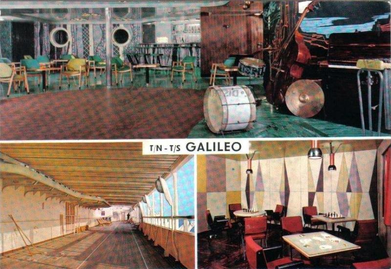 'Galileo Galilei' - Lloyd Triestino - 1963 23_nav17