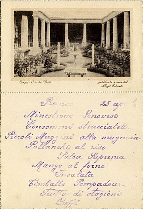 'Conte Rosso' - Lloyd Sabaudo - 1923 23_nav21