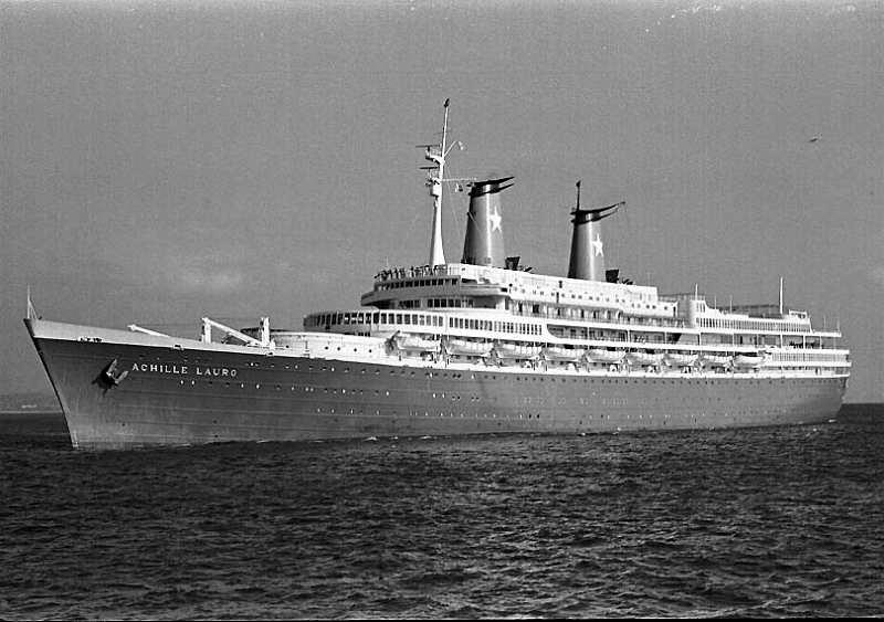 'Achille Lauro' - anche Flotta e Star Lauro - 1947 23_nav25