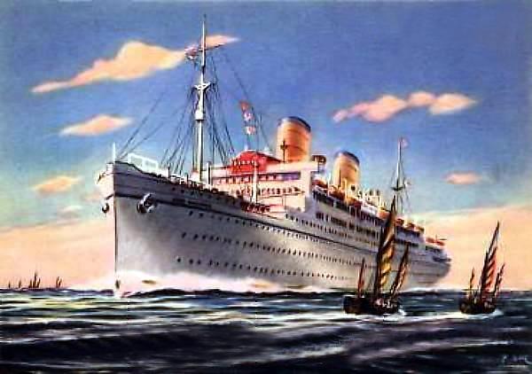 'Conte Biancamano' - Lloyd Sabaudo - 1925 24_nav18