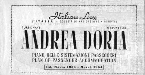 'Andrea Doria' - Italia - 1952 25_pon11