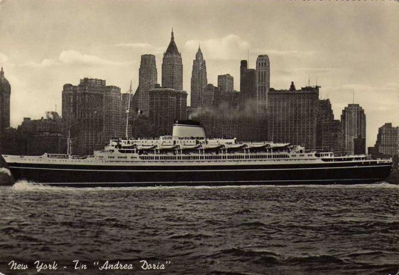 'Andrea Doria' - Italia - 1952 27_nav16