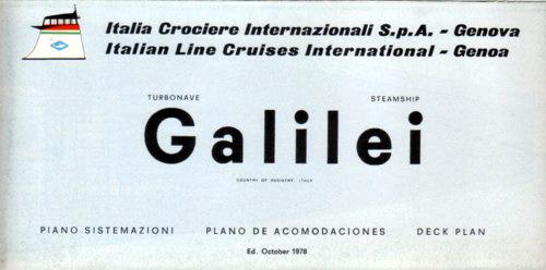 'Galileo Galilei' - Lloyd Triestino - 1963 28_iga11