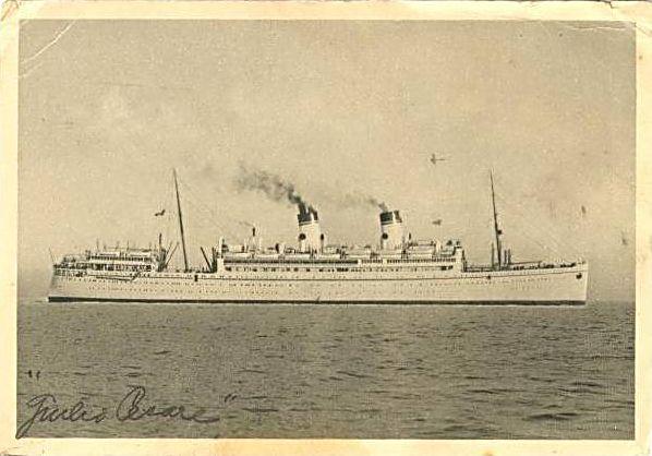 'Giulio Cesare' - N.G.I. - 1921 28_nav16