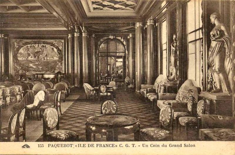 'Ile de France' - C.G.M. - 1926 29_26c10