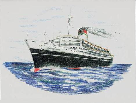 'Andrea Doria' - Italia - 1952 29_nav17