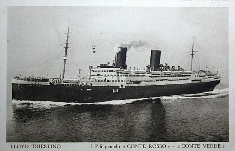 'Conte Rosso' - Lloyd Sabaudo - 1923 29b_co10
