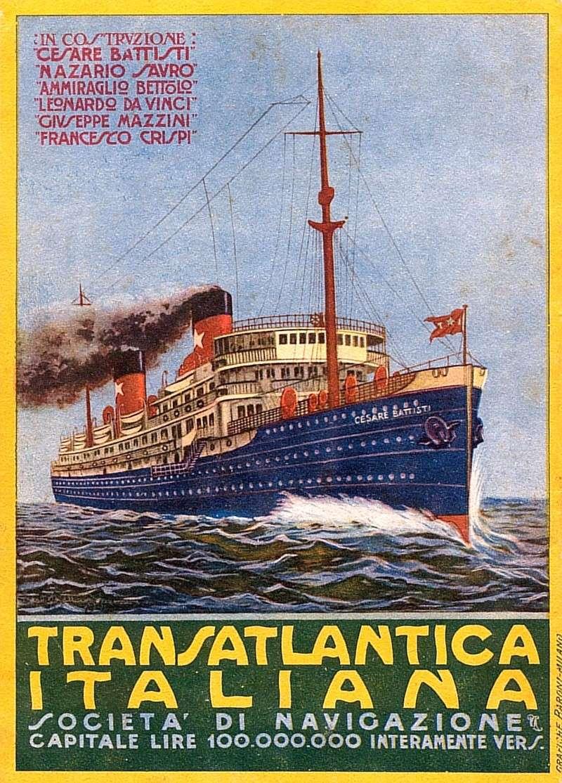 'Cesare Battisti' - Transatlantica Italiana - 1922 2_cesa10