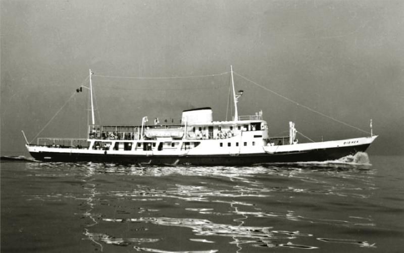'Dionea' - Nav. Alto Adriatico - 1962 2_dion10