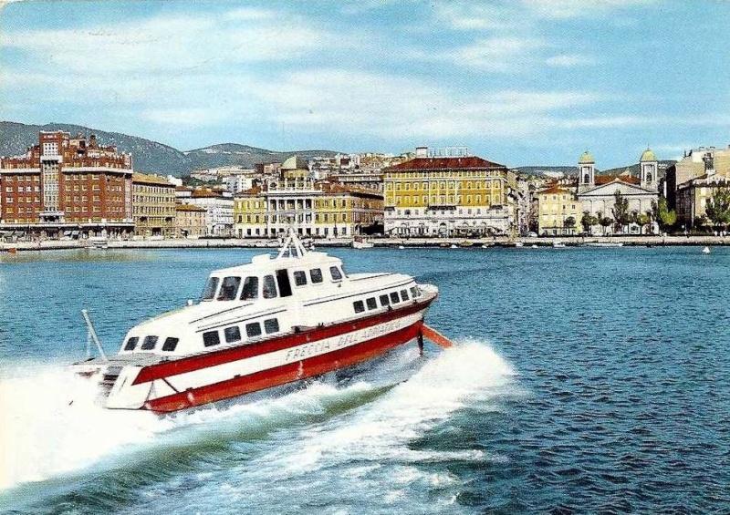 'Freccia dell'Adriatico - Soc. Aliscafi Trieste - 1959 2_frec10