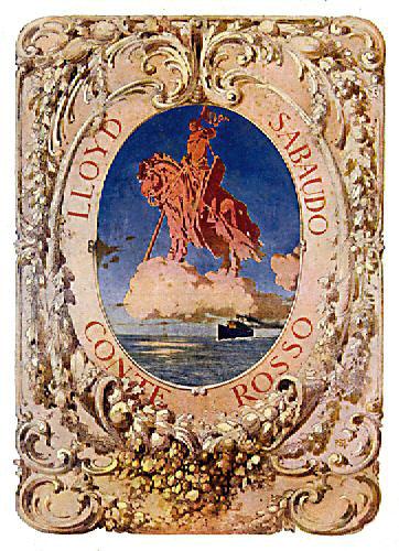 'Conte Rosso' - Lloyd Sabaudo - 1923 2_lloy10