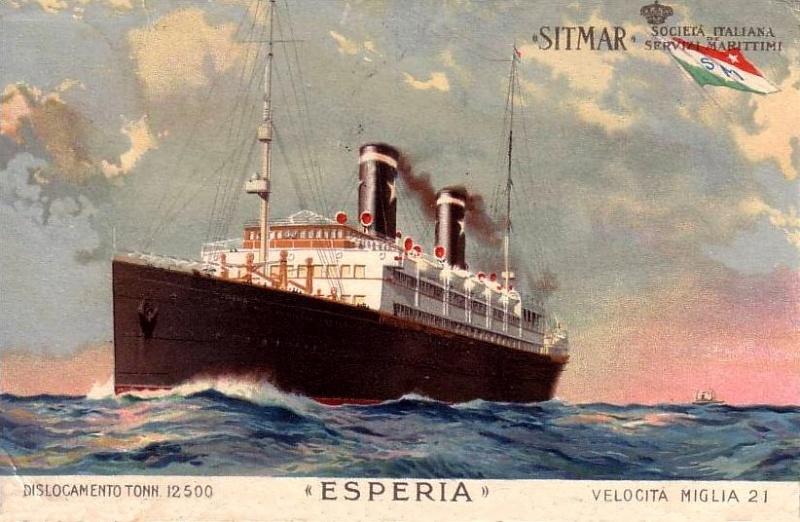 'Esperia' - Sitmar - 1921 2_nave30