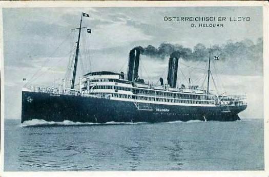 'Helouan' - Österreichischer Lloyd - 1912 2_nave31