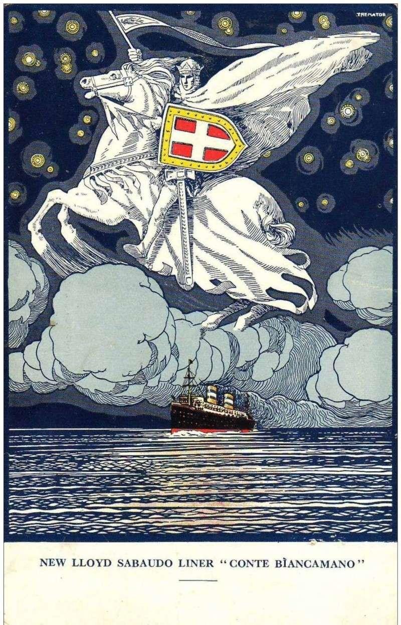 'Conte Biancamano' - Lloyd Sabaudo - 1925 2_nave34
