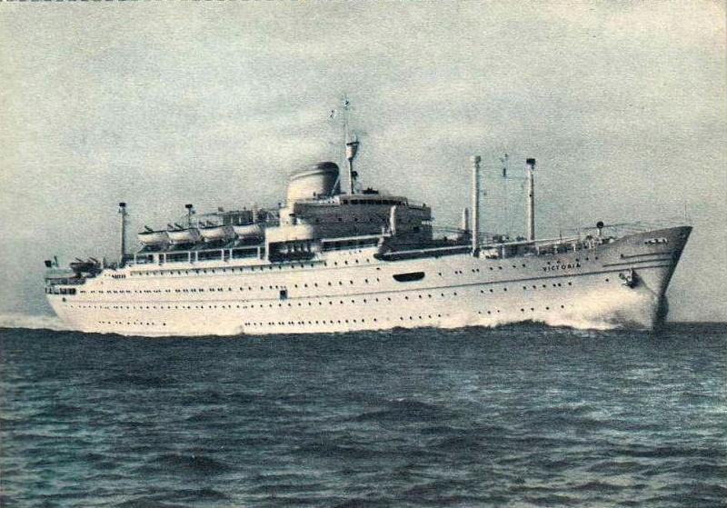 'Victoria' - Lloyd Triestino - 1952 2_nave35