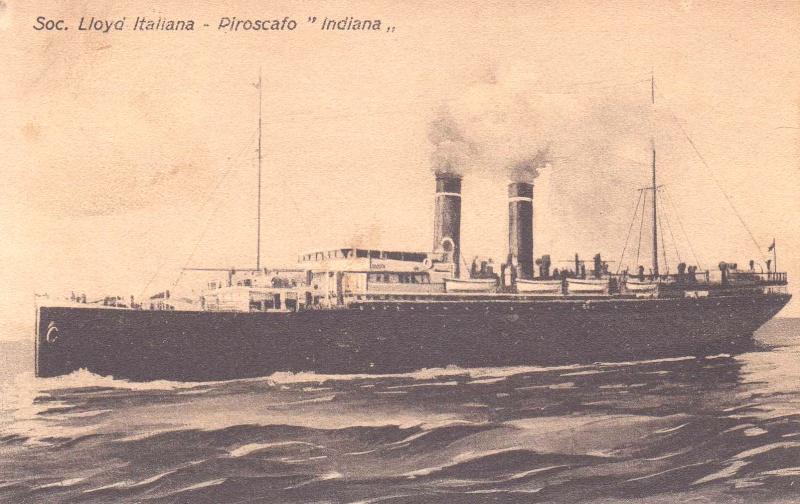 'Indiana' - Lloyd Italiano - 1905 2_nave37