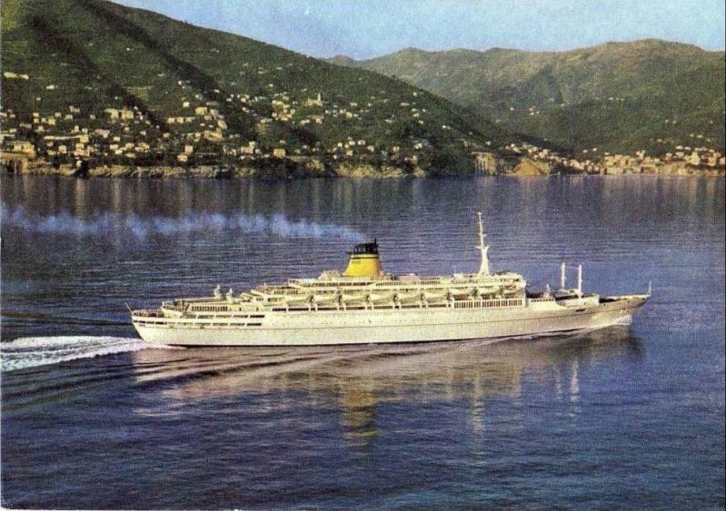 'Guglielmo Marconi' - Lloyd Triestino - 1963 2_nave43