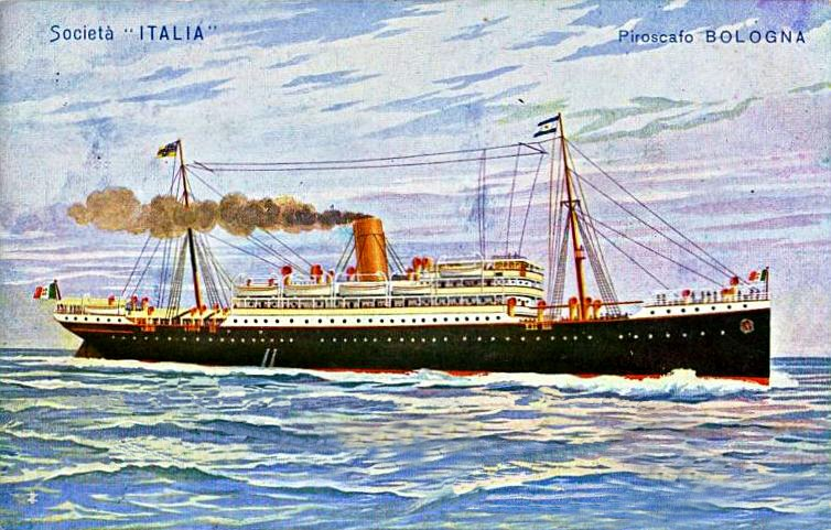 'Bologna' - Italia Nav. Vap. - 1905 2_nave54