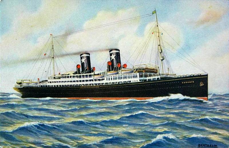 'Ausonia' - Sitmar - 1928 2_nave57