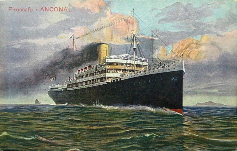 'Ancona' - Italia Nav. a Vap. - 1908 2_nave59