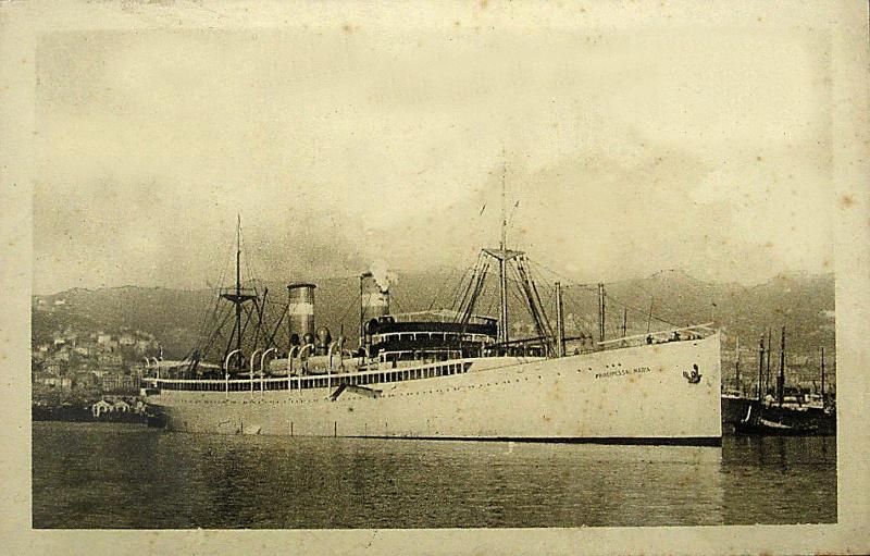 'Principessa Maria' - Lloyd Sabaudo - 1923 2_nave64