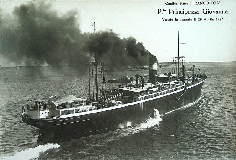 Principessa Giovanna' - Lloyd Sabaudo - 1923 2_prin12