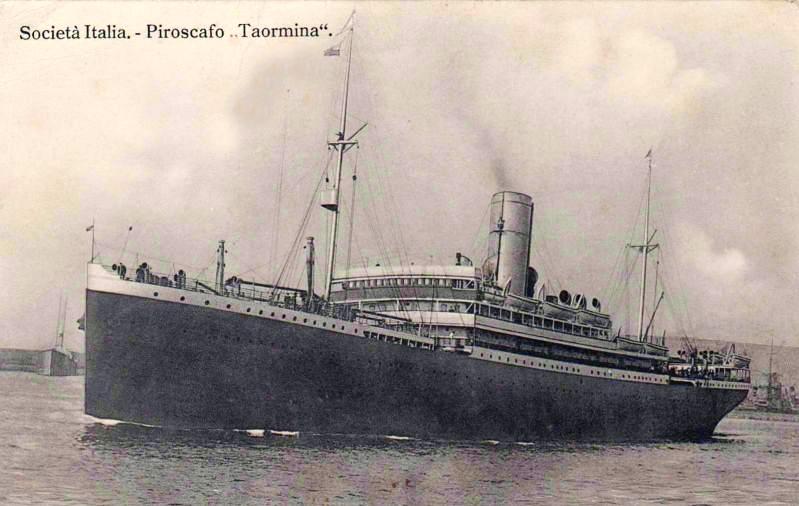 'Taormina' - Italia Soc. Nav. a Vapore - 1908 2_taor10